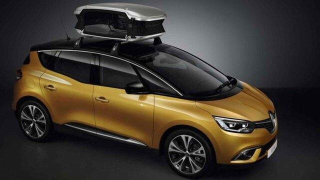 Nowe Renault SCENIC - Kufer dachowy Urban Loader 300