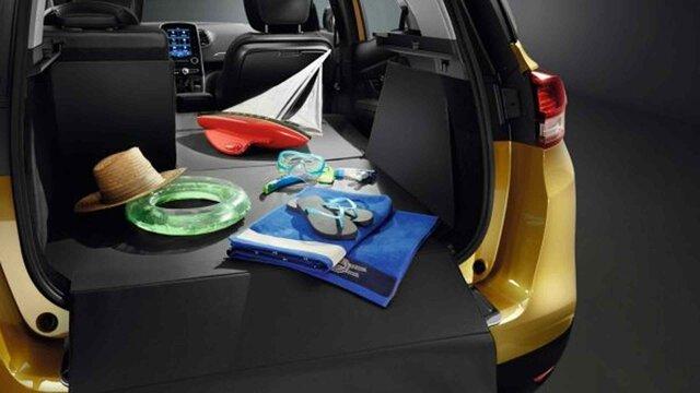 Renault SCENIC - Składany wkład do bagażnika Easyflex