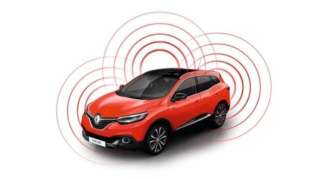Renault CAPTUR - Riasztó