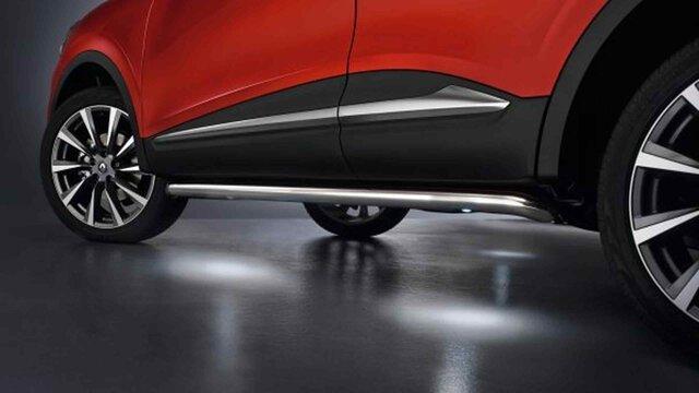 Renault KADJAR – BARRAS DE ESTILO CROMADAS ILUMINADAS
