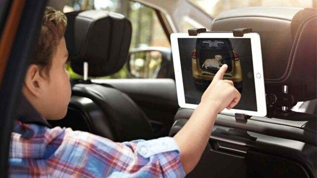 Renault SCENIC – Touchscreen-Tablet-Halterung