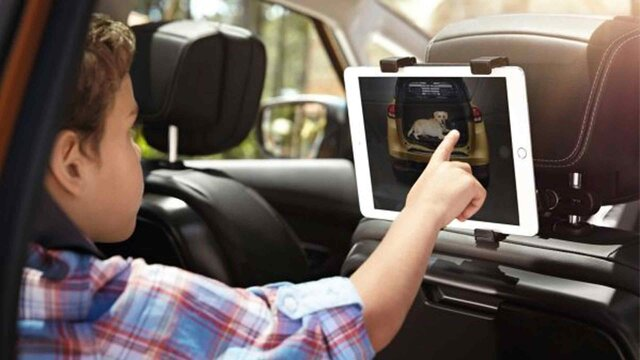 Renault SCENIC - Suporte para tablet com ecrã tátil