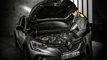 Renault - Prohlídka před STK