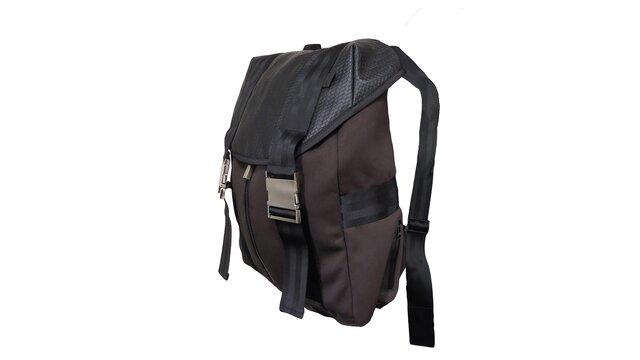 Braun-schwarzer Rucksack aus dem Renault Lifestyle Shop