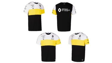 Tee-shirt homme F1 Renault Collections