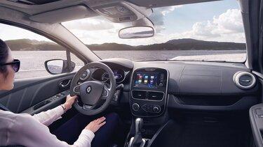 Probefahrt mit dem Renault