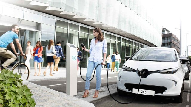 Renault - Recarregar o seu veículo