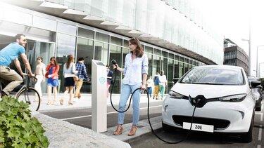 Renault – Ihr Fahrzeug aufladen