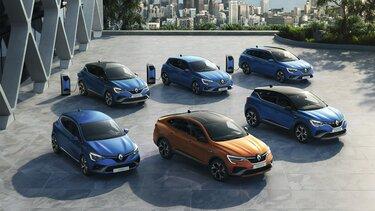 La gamme de véhicules électriques de Renault