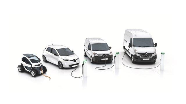 Nabídka vozů Renault Z.E.
