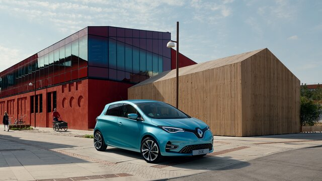 Renault ZOE - stabil batteriladdning