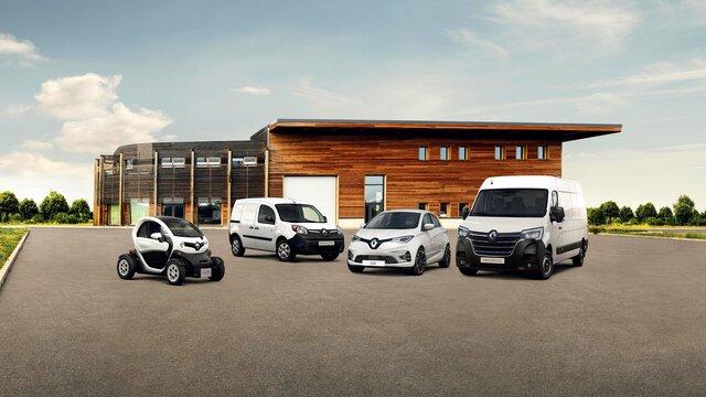 Renault Z.E.-Reihe: Twizy, Kangoo Z.E., ZOE und Master Z.E.