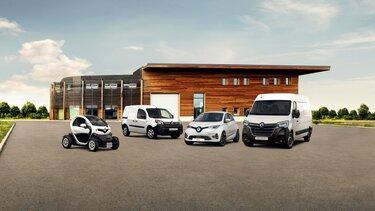 Renault Elektromodelle: Twizy, Kangoo Z.E., ZOE und Master Z.E.