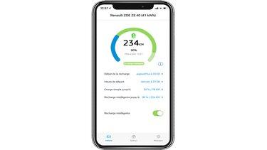 Z.E. Smart Charge suivi de charge