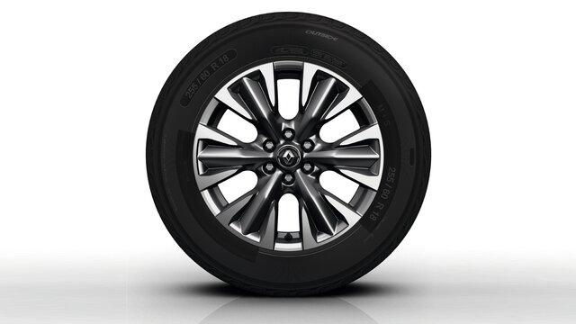 Renault ALASKAN 18-Zoll-Aluminiumfelgen