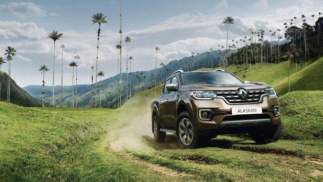 Renault ALASKAN - Face avant