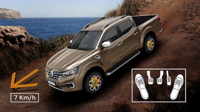Renault ALASKAN Bergabfahrhilfe