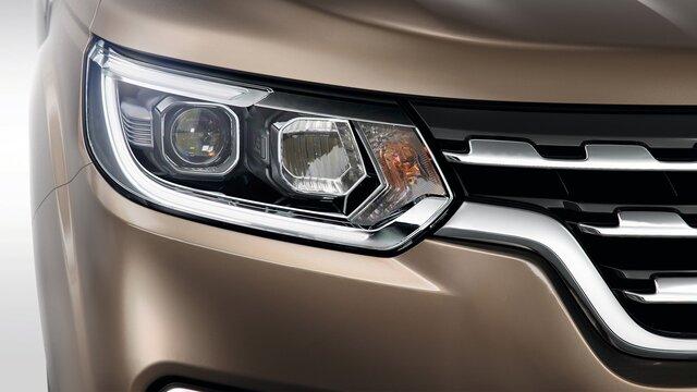 Renault ALASKAN LED-Lichtsignatur
