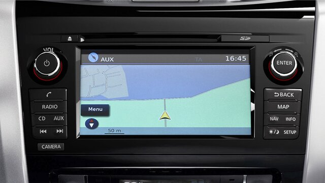 Renault ALASKAN - Navigatiesysteem