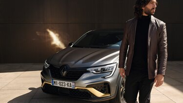 Arkana SUV hybride  - extérieur - Renault