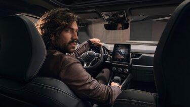 Arkana SUV hybride   - extérieur profil arrière - Renault