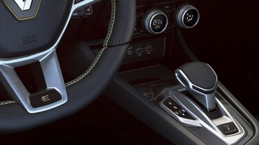 Arkana SUV hybride  - intérieur - levier de vitesse - Renault