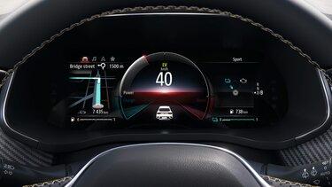 Renault Arkana E-TECH Hybrid - 10,2-Zoll-Fahrerdisplay