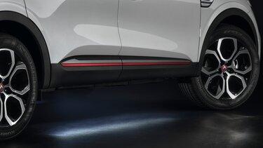 Luce di avvicinamento sottoscocca - accessori Renault Arkana SUV