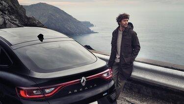 Arkana SUV – exteriör sedd bakifrån – Renault