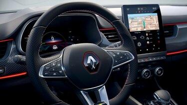 SUV Renault Arkana – obrazovky
