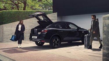 Arkana SUV - interieur - Renault 513 liter bagageruimte in de benzineversie