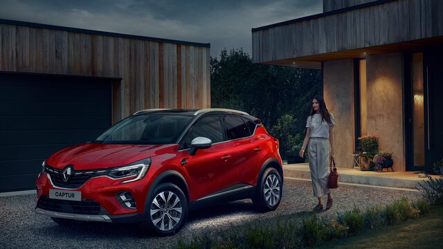 CAPTUR under-body lighting