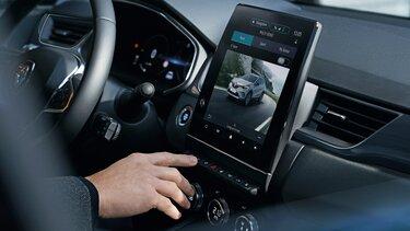 Nuevo Renault CAPTUR interior iluminación MULTI-SENSE