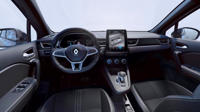 Renault CAPTUR interieur, smart cockpit, dashboard