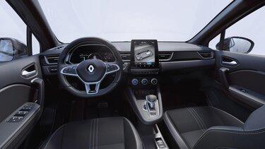 Unutrašnjost novog vozila CAPTUR: upravljač, instrumentna ploča