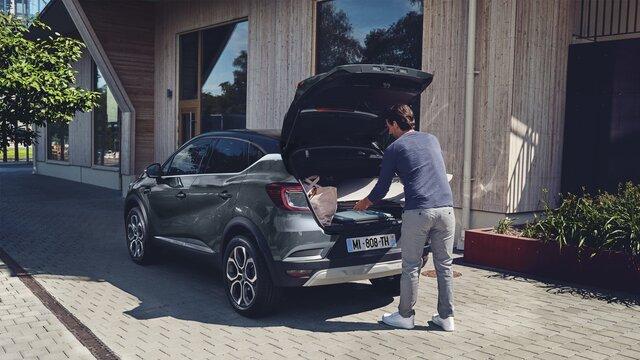 Renault CAPTUR boot