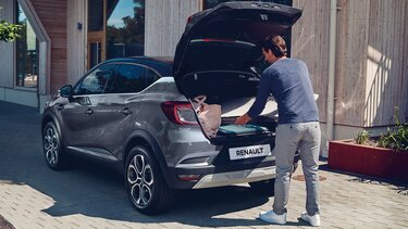 Renault CAPTUR, bagagerum