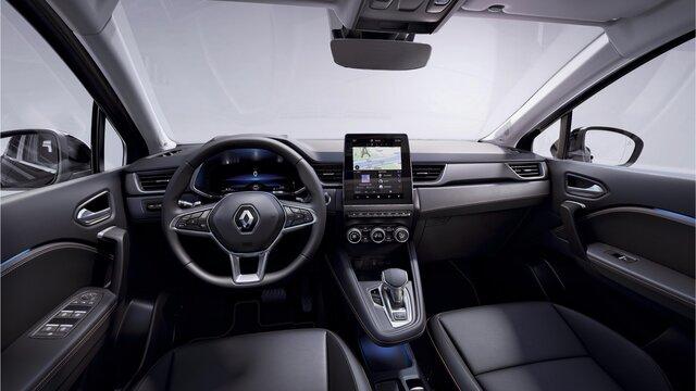 Renault CAPTUR intérieur places avant et arrières