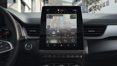 Renault CAPTUR ekranı, torpido