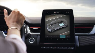 Renault - Captur - RS Line - schermo multimediale