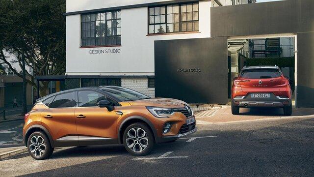 Nowe Renault CAPTUR na zewnątrz