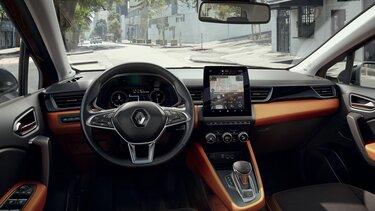 Nowe Renault CAPTUR nowoczesne wnętrze