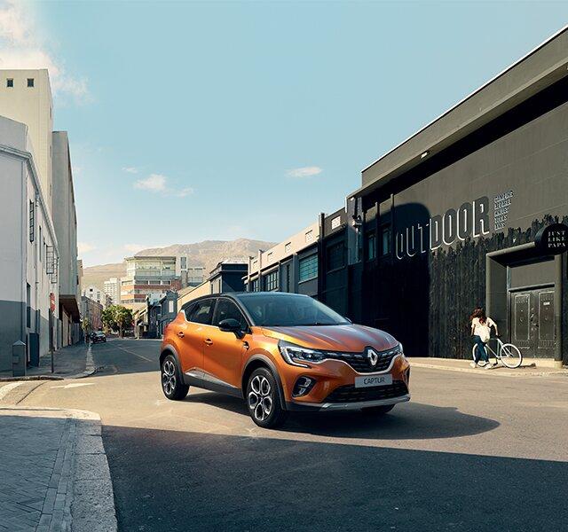 Nowe Renault CAPTUR z zewnątrz