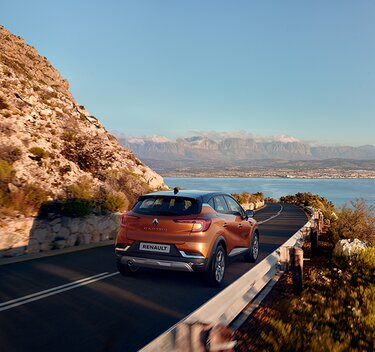 Renault CAPTUR SUV orange