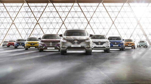 Nabídka osobních vozů Renault