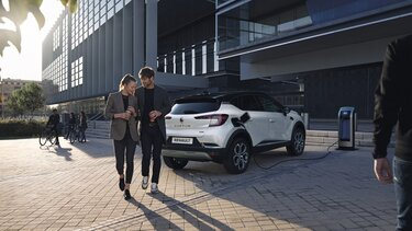 Captur E-Tech Aufladung
