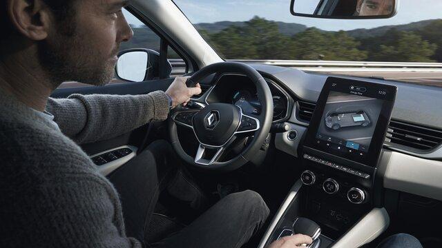 Renault CAPTUR E-TECH - système multimédia EASYLINK