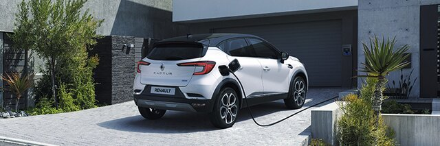 Renault CAPTUR E-TECH - SUV hybride rechargeable