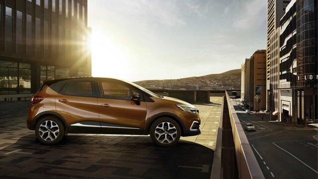 Renault CAPTUR personalisierbarer SUV für die Stadt
