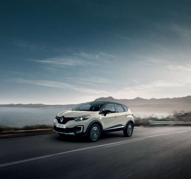 Exterior do Renault CAPTUR